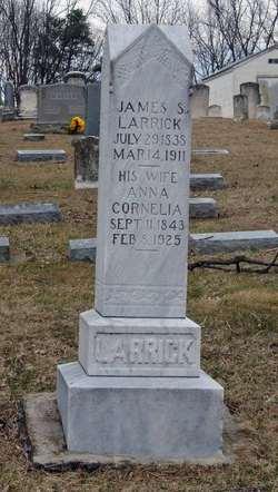 Anna Cornelia <I>Shewalter</I> Larrick