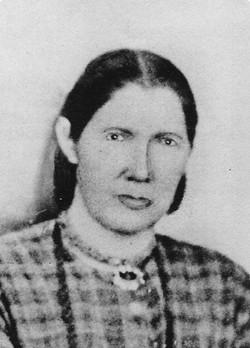 Mary Caroline <I>Allred</I> Egbert