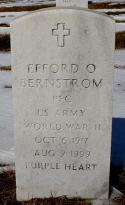 Efford O Bernstrom