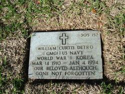 William Curtis Detro