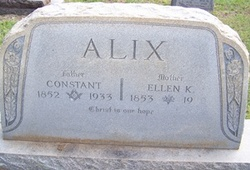 Ellen K. <I>Jackman</I> Alix