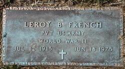 Leroy B French