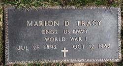 Marion D Tracy