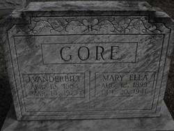 Mary Ella <I>Gore</I> Gore