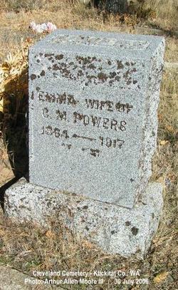 Emma Marie <I>Lund</I> Powers