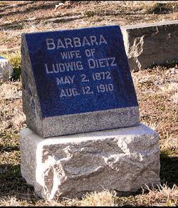 Barbara <I>Finkenauer</I> Dietz