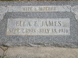Ella Elizabeth <I>White</I> James