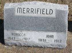 Rebecca <I>Johnson</I> Merrifield
