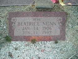 """Beatrice """"Bebe"""" <I>Clay</I> Nunn"""