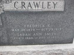 Sarah Ann <I>Smith</I> Crawley