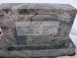 """William Verd """"Jack"""" Williams"""