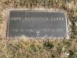 Hope <I>Hutchings</I> Clark