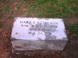 Mary E <I>Esselman</I> Spence