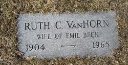 Ruth Catherine <I>VanHorn</I> Beck
