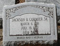 "Jackson Black ""Jack"" Cormier, Sr"