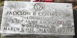 Jackson B Cormier, Jr