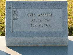 Ovie Abshire