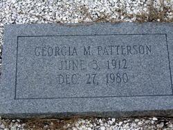 Georgia M Patterson