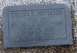 Thelma E Patterson