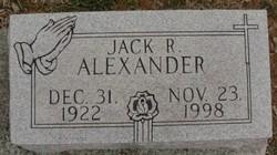 Jack R. Alexander