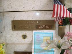 Mary Olive <I>Martin</I> Kasson