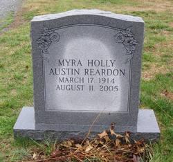 Myra Holly <I>Austin</I> Reardon