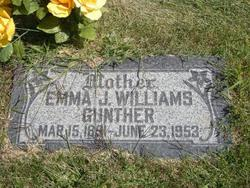 Emma James <I>Williams</I> Gunther