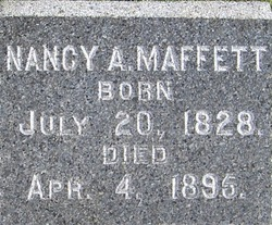 Nancy A Maffett