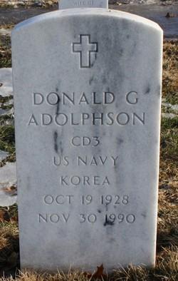 Donald G Adolphson