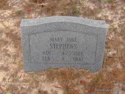 Mary Jane <I>Baker</I> Stephens