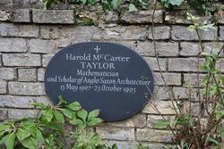 Harold McCarter Taylor
