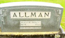 "Margaret Jane ""Maggie"" <I>Bragg</I> Allman"