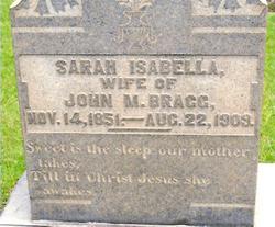 Sarah Isabella <I>Clark</I> Bragg