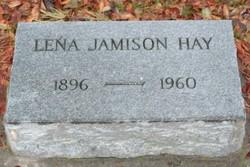 Lena <I>Jamison</I> Hay