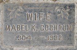 Mabel K <I>Jones</I> Cochrum