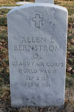 Allen E Bernstrom