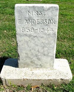 Elizabeth <I>Short</I> Anderson