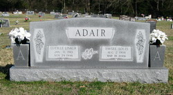 """Lucille """"Lucy"""" <I>Linker</I> Adair"""