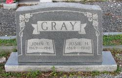 Josephine Josie <I>Hicks</I> Gray