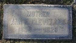 Ann Elizabeth Cleveland
