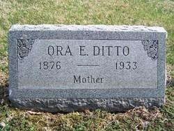 Ora Ellen <I>Utter</I> Ditto