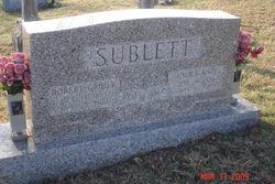 Robert Grider Sublett