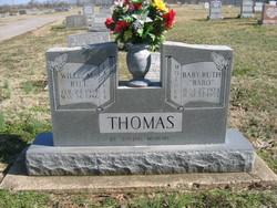 """Baby Ruth """"Babo"""" Thomas"""