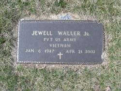 Pvt Jewell Waller, Jr