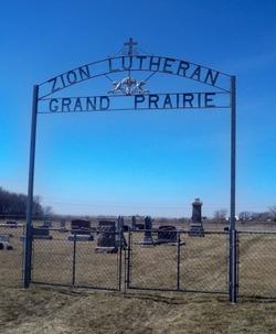 Zion Lutheran Grand Prairie Cemetery