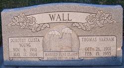 Dorothy Clista <I>Young</I> Wall