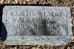 Curtis Wesley Ackerman