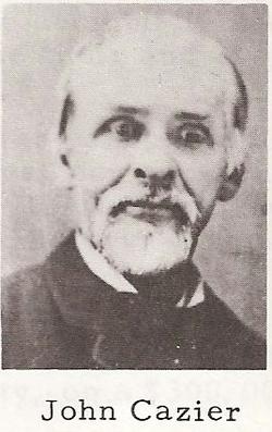 Pvt John W. Cazier, Sr