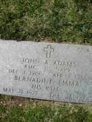 PFC John Alton Adams