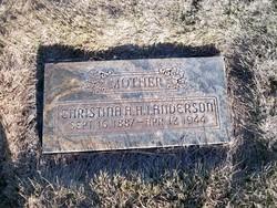 Christina Albertina <I>Anderson</I> Anderson